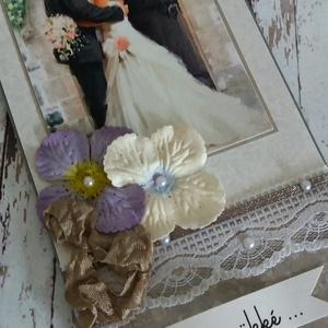 Esküvői pénzátadó boríték  (Zsart) - Meska.hu