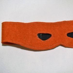 Tini nindzsa álarc narancsárga (zsiemankaje) - Meska.hu