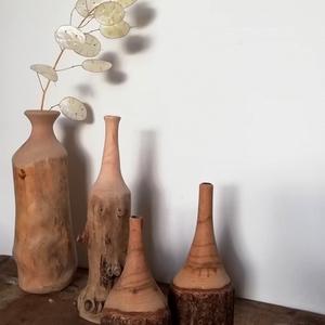 Fa váza - Meska.hu