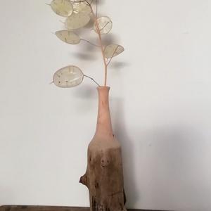 Fa váza, Otthon & Lakás, Dekoráció, Váza, Famegmunkálás, Meska