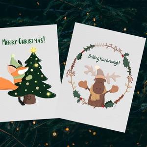 Karácsonyi képeslapok, Művészet, Grafika & Illusztráció, Festészet, Fotó, grafika, rajz, illusztráció, Nemsokára itt a legkedvesebb időszaka az évnek, a karácsony. Ilyenkor a világ lelassul, szeretteinkk..., Meska