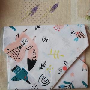 Textil Tépőzáras Szalvéta - állatos mintával, NoWaste, Varrás, Kívül - belül Textil szalvéta tépőzárral! Ideális szendvics csomagolásához! Mosógépben mosható, több..., Meska