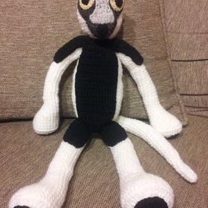 Zaboo, Majom, Plüssállat & Játékfigura, Játék & Gyerek, Horgolás, Egy közkedvelt gyermekműsor ihlette ezt az imádnivaló kis majmot,amely méretét tekintve kb 36-40 cm...., Meska