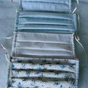Szájmaszk / arcmaszk  mosható, vasalható textil (zsuzsa47) - Meska.hu
