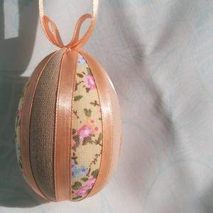 Húsvéti tojásdísz, Otthon & lakás, Dekoráció, Ünnepi dekoráció, Húsvéti díszek, Foltberakás, Húsvétkor egy barkaágon, vázában különleges dísze lehet otthonunknak, illetve locsolóknak is kedves ..., Meska