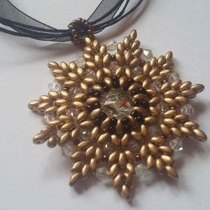 Bronzos virág (Zsuzska1970) - Meska.hu