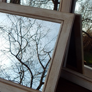 Antikolt tükör - otthon & lakás - dekoráció - tükör - Meska.hu