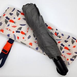 Vízhatlan esernyőtok szélfújós , Táska & Tok, Variálható táska, Varrás, Vízhatlan esernyőtok. Ha ebben a tokban tartod az esernyőd, akkor akár a táskádban is hordhatod amik..., Meska
