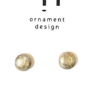 Arany színú fülbevaló, Ékszer, Fülbevaló, Ékszerkészítés, Beton pötty fülbevaló aranyszínűre festve. Bizsu alapon.\nÁtmérő: 6 mm., Meska