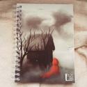 Piroska, egyedi grafikás füzet (saját grafika), Képzőművészet, Naptár, képeslap, album, Grafika, Jegyzetfüzet, napló, Boltunkban egyedi füzetek találhatóak, kemény műanyag borítóval ellátva, három méretben. A..., Meska