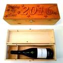 Díszdoboz, italtartó doboz - egyedi felirattal , Egyedi, fából készült díszdoboz, bármilyen f...