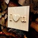 Valentin napi ajándék, Dekoráció, Esküvő, Mindenmás, Szerelmeseknek, Egyedi Valentin napi ajándék, esküvői dekoráció, a nevek testreszabva a szerelmes pár nevére..., Meska
