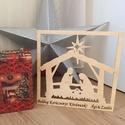 Karácsonyi kép - Betlehemi jászol, Otthon & lakás, Dekoráció, Ünnepi dekoráció, Karácsonyi, adventi apróságok, Lepd meg szeretteidet egy egyedi, névre szóló Karácsonyi ajándékkal., Meska