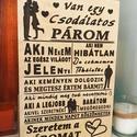 Szeretem a páromat-tábla, Sokféleképpen ki lehet fejezni a párunknak, hog...