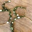 Fa dekorációs karika, Fa dekorációs karikák 10 mm vastag faanyagból,...