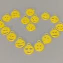 17db kifesthető emotikon kulcsdísz, 3D nyomtatott., Táska & Tok, Kulcstartó & Táskadísz, Kulcstartó, Mindenmás, 17db akár ki is festhető vicces emotikon kulcsdísz csomag.  Remek ajándék! 3D nyomtatással készül, ..., Meska