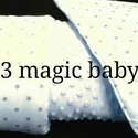 Csillagos puhaság, Baba-mama-gyerek, Baba-mama kellék, Gyerekszoba, Varrás, Bélelt babatakaró párnával. Méretei: Párna:30*40 cm Takaró:80*100 cm Rendelhető több színben és mér..., Meska