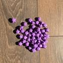 Lila origami szerencsecsillagok 50 db/csomag, Dekoráció, Otthon, lakberendezés, Papírművészet, Önmagukban is kedves ajándékok lehetnek ezek a csillagocskák, de válogass bátran a színek között, v..., Meska