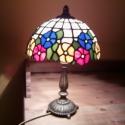 Lámpa akció! Klasszikus Tiffany lámpa, Otthon, lakberendezés, Lámpa, Hangulatlámpa, Üvegművészet, 20 cm átmérőjű szabályos félgömb alakú tiffany technikával készült lámpabúra. 216 db egyesével kivá..., Meska