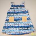 Kalózruha, Ruha, divat, cipő, Gyerekruha, Kisgyerek (1-4 év), Nyári ruhácska kis kalózlánykáknak. Vidám, tarkabarka, kényelmes, kellemes viselet tiszta pamut anya..., Meska