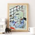 Harakiri saját festményről A4 Print, Képzőművészet, Dekoráció, Kép, Festmény, Fotó, grafika, rajz, illusztráció,  A4-es Minőségi Print,  Nyomtatás saját festményemről   * KERET NÉLKÜL! *  * MÉRET: A4 (210mm x 297..., Meska
