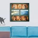 Bounty Festményemről 50x50cm-es Print, Lakatlan sziget, Pálma, tenger, Képzőművészet, Dekoráció, Kép, Festmény, Fotó, grafika, rajz, illusztráció, 50x50cm Minőségi Print,  Nyomtatás saját festményemről  * KERET NÉLKÜL! *  * MÉRET: 50x50cm Egyéb m..., Meska