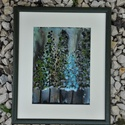 Sarki fény, Dekoráció, Otthon, lakberendezés, Kép, Falikép, tűzzománc: 15x20cm keret: 25x30cm, Meska