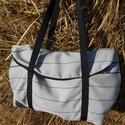 semleges homok szín egyterű nagy váll táska , Táska, Válltáska, oldaltáska, Egyterű erős de könnyű táska sokat lehet bele pakolni  10 kg -ig terhelhető  34 x 16 x 42 cm heveder..., Meska