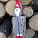 Karácsonyi manó , Dekoráció, Ünnepi dekoráció, Karácsonyi, adventi apróságok, Karácsonyi dekoráció, Skandinávok karácsonyi manója ihlette saját manómat . Más színben is készítem. Más méretet csak megr..., Meska