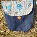 békaság 4 in 1 hátizsák, Táska, Hátizsák, Válltáska, oldaltáska, Saját tervezésű 4 módon hordható táska . Kézben ,vállon,vállon keresztbe és hátizsákként is hordható..., Meska