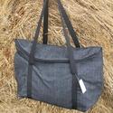 Farmer Táska , Táska, Válltáska, oldaltáska, Laptoptáska, Egyterű erős de könnyű táska sokat lehet bele pakolni  10 kg -ig terhelhető bélelt cipzárral zárható..., Meska
