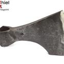 Kovácsolt acél viking szakállas balta kemény acél éllel, [F_07a], [F_07a] === Kovácsolt acél viking szakállas bal...