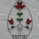 Èkszeres tulipàn, Magyar motívumokkal, Ékszer, Ékszertartó, Nyaklánc, Rèz ès ûveg az èkszerek ès viràgok szerelmeseinek....., Meska