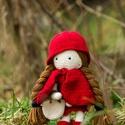 Horgolt kislány, Baba-mama-gyerek, Játék, Baba játék, Horgolás, Gyerekkorom egyik kedvenc mesehőse kelt életre a kezeim között, Isabelle Kessedjian mintája alapján..., Meska
