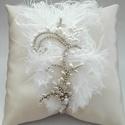 Diana vintage menyasszonyi hajdísz