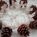Vintage masnis karácsonyi toboz díszek, Dekoráció, Karácsonyi, adventi apróságok, Karácsonyfadísz, Karácsonyi dekoráció, AKCIÓ!!! MINDEN 5000 FELETTI VÁSÁRLÁST KÖVETŐEN ( VÁLASSZ AZ AJÁNDÉK POLCRÓL ÉS TEDD A KO..., Meska
