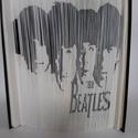"""The Beatles, A """"The Beatles"""" egyedi készítésű könyvszobor...."""