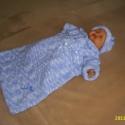 Ábránd-Babaváró garnitúra , Baba-mama kellék, Gyerekruha, Baba (0-1év),  Elkészült babaváró garnitúrám 3.változata,amit könnyebben terveztem-készítettem,mint fotóztam..Seho..., Meska
