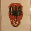 Sasos királyi címer, Dekoráció, Naptár, képeslap, album, Festészet, Papírművészet, Merített papíron sast ábrázoló királyi címer mérete:  20,5 cm  x 15 cm  Tanuláshoz, vagy dekoráción..., Meska
