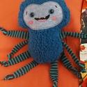 Ici-pici pók 5., Dekoráció, Férfiaknak, Játék, Plüssállat, rongyjáték, Tőle nem kell megijedni, mert ez a kedves, puha kis pókocska garantáltan vidámságot hoz az ősz..., Meska