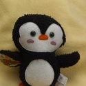 Textil pingvin figura, Dekoráció, Játék, Plüssállat, rongyjáték, Jön a tél, jönnek a pingvinek is! Nagyon aranyos ajándék, akár a Mikulászacskóban is elfér. Nem boly..., Meska