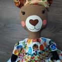 Öltöztethető textil láma figura, Játék, Dekoráció, Plüssállat, rongyjáték, Ismerkedjetek meg legújabb figurámmal! ???? Ez a kecses láma kisasszony csak arra vár, hogy valaki h..., Meska