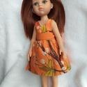 Átlapolós ruha Paola Reina babára, Átlapolós ruhát készítettem, 32 cm magas Paol...