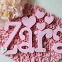Gyöngyös ZARA baba betűk, dekor betűk, Otthon & Lakás, Dekoráció, Betű & Név, Festett tárgyak, Zara dekor betűk, baba betűk   Alap anyaguk: fehér polisztirol XPS  A termék saját vágással, festés..., Meska