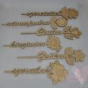Szóvirágok egyedi szöveggel, 6 különböző virág közül választhatsz, a vi...
