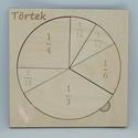 """""""Törtek egyszerűen"""" tábla, Interaktív és játékos módon tudjuk megtaníta..."""