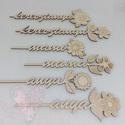 Anyák napi szóvirágok, Fa virágok: 6 különböző virág közül válas...