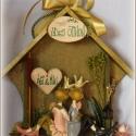 Személyre szóló ajándék házikó : ESKÜVŐRE, Otthon, lakberendezés, Férfiaknak, Esküvő, Dekoráció, Ajtódísz, kopogtató,  Személyre szóló ajándék házikó : ESKÜVŐRE  A személyre szabáshoz egyedi névfelirat kérhető. A házik..., Meska