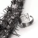 Ezüst leveles-ágas gyűrű , Ékszer, Gyűrű, Ékszerkészítés, Fémmegmunkálás, Szia! Ez az ékszerem finom mutatós darab. Egy leveles ág rátéttel, mintázattal. Mint láthatod a gyű..., Meska