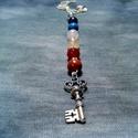 7 köves csakra amulett, Ékszer, Nyaklánc, Ékszerkészítés, A 7 csakra köveit tartalmazó amulett. Mindegyik csakránkat energetizálja, emeli a rezgésszintjét ez..., Meska